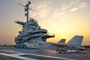 photo of the USS Yorktown