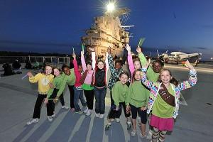 photo of Patriots Point USS Yorktown & Kids On Deck